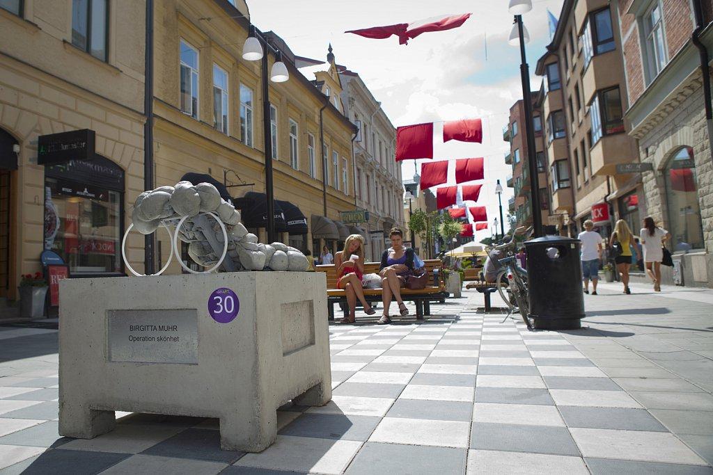 Operation Skönhet. 2009. Open Art, Örebro. Foto: Open Art
